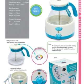 Water warmer & steriliser #FEB50