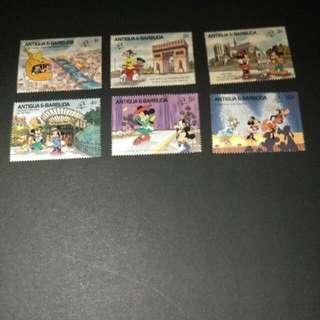 迪士尼郵票 10
