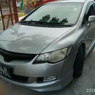 HONDA CIVIC FD 1.6(A) 2008 BODYKIT