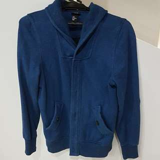 Mens Blue Sweater / Jacket