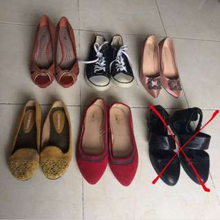 Hells & flat shoes from 25k - 80k