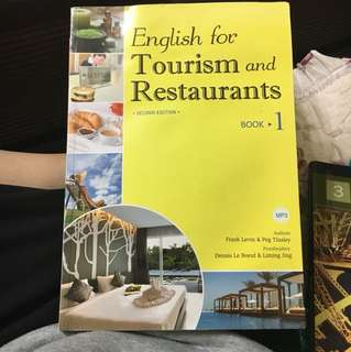 🚚 English for Tourism and Restaurants #出清課本