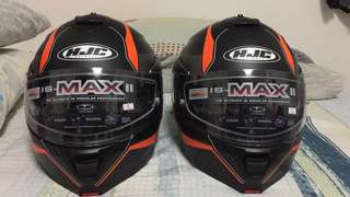 Hjc IS-Max2 2pcs L size, just use less then 5 time, 1 have original smoke visor