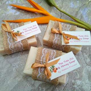 Tea Tree Oil & Honey Beauty Soap