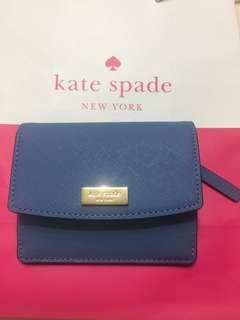 Kate Spade 藍色小銀包