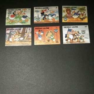 迪士尼郵票 11
