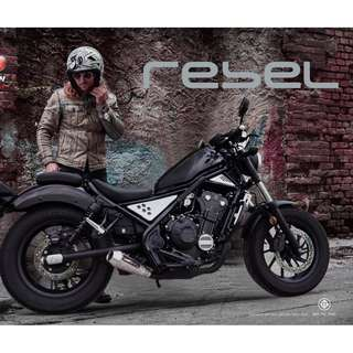 Devil Exhaust Systems Singapore Honda Rebel 500 Ready Stock ! Promo ! Do Not PM ! Kindly Call Us !