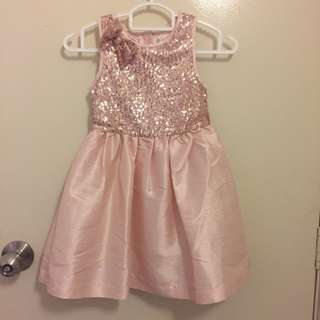 Pinky Peach Girl Dress