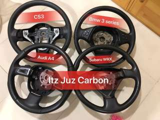 Carbon steering wheel
