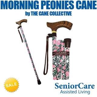 Morning Peonies Cane by The Cane Collective