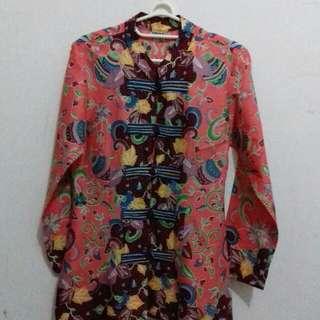 Blus batik salem