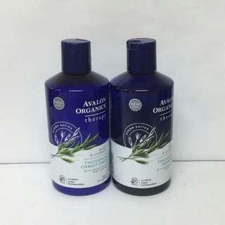 Avalon Organics 有機深層治療洗護髮系列