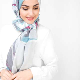 Serene Blue Hijab