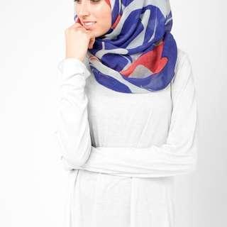 Blue Wave Hijab