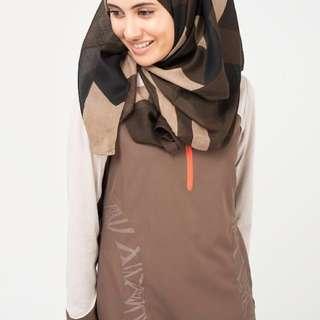 Mocha Light Hijab
