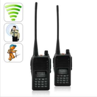 Long Range Walkie Talkie Set (UHF, 220v)