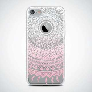 Mandala Clear Case