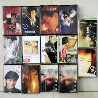 Cassette Tape Andy Lau 刘德华卡带