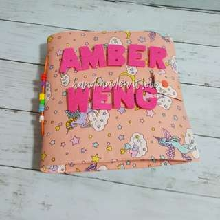 Handmade quiet book