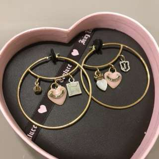 Juicy Couture hoops earrings 大圈耳環