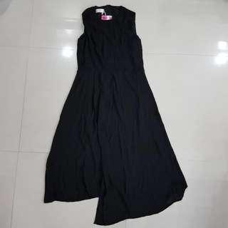 Nurenshijie Black Dress, Women, XL