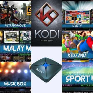 All Channels You Need Are here! One time payment IPTV for Singapore/Malay users IGTV android box best content box