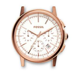 ROWEN CHRONOGRAPH ROSE STAINLESS STEEL WATCH CASE   Fossil Ladies Watch