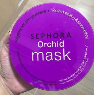Sephora orchid mask