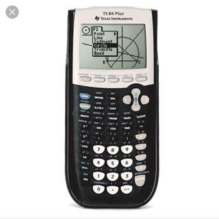 TI-84 PLUS Graphic Calculator