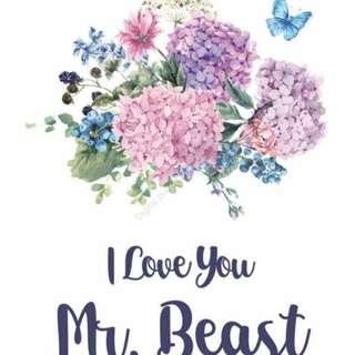 Ebook : I Love You Mr. Beast by Kamal Agusta