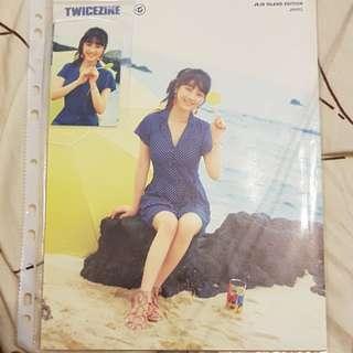 Twice jihyo Jeju poster/pc