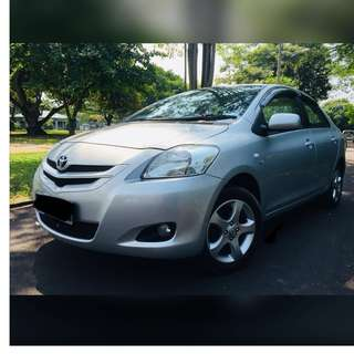 2008 Toyota Vios 1.5 E spec Facelift LIKE NEW (Auto)