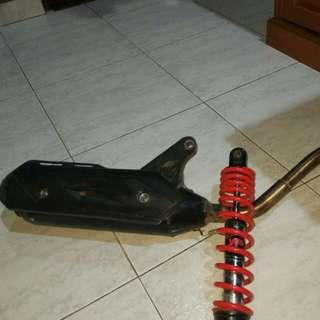 knalpot racing kawahara vario new injek 110