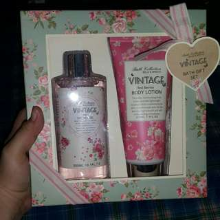 Shower Gel and Body Lotion Set (Repriced)