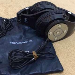 Monoprice headphones