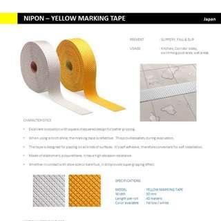 PREMIUM NIPON Anti slip / Anti skid / fall prevention tape / slippery floor
