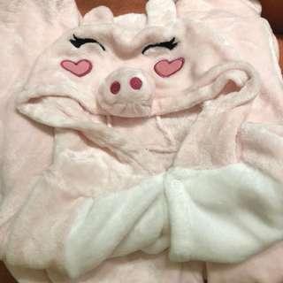 豬豬造型連體衫