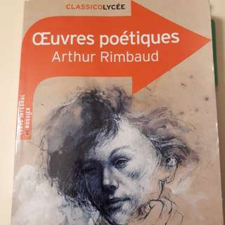 Oeuvres poetiques - Arthur Rimbaud (French)