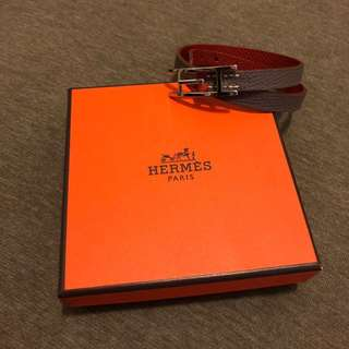 100% authentic and brand new Hermès dual color bracelet - M size.