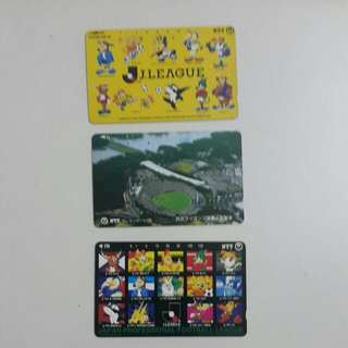 Japanese phone card from the 80s - sports series (4)