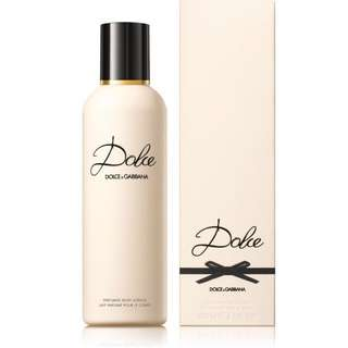 Dolce & Gabbana Dolce Shower Gel (available 200ml / 100ml)
