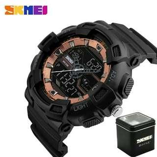 Jam tangan pria skmei 1189 original