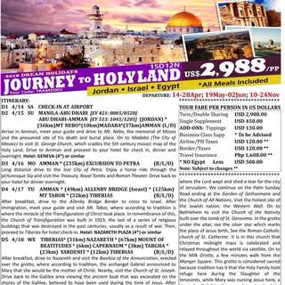 JourNey To HoLyLand