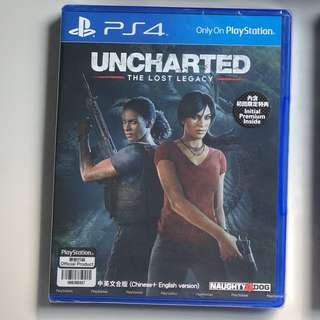 Uncharted : Lost Legacy PS4