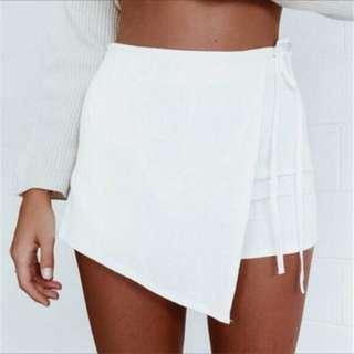 Black Skort Skirt