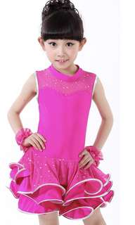 Latin dance dress age:5-7