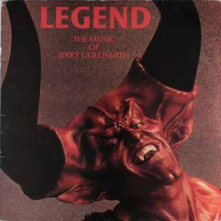 Vg+ vg legend ost soundtrack record vinyl jerry goldsmith
