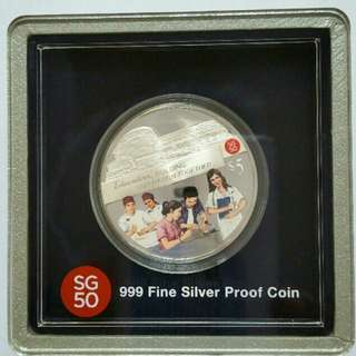 SG50 Silver Proof Coin