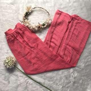Free SF Bershka Pink maxi skirt