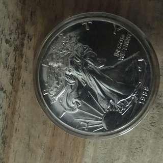 1oz 1988 Silver eagle